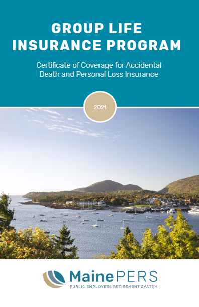 Certificate of Coverage for Accidental Death and Personal Loss Insurance